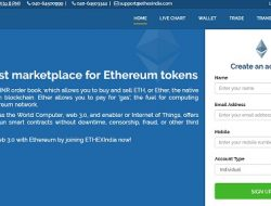 EthexIndia – Platform to Buy And Sell Ethereum In India