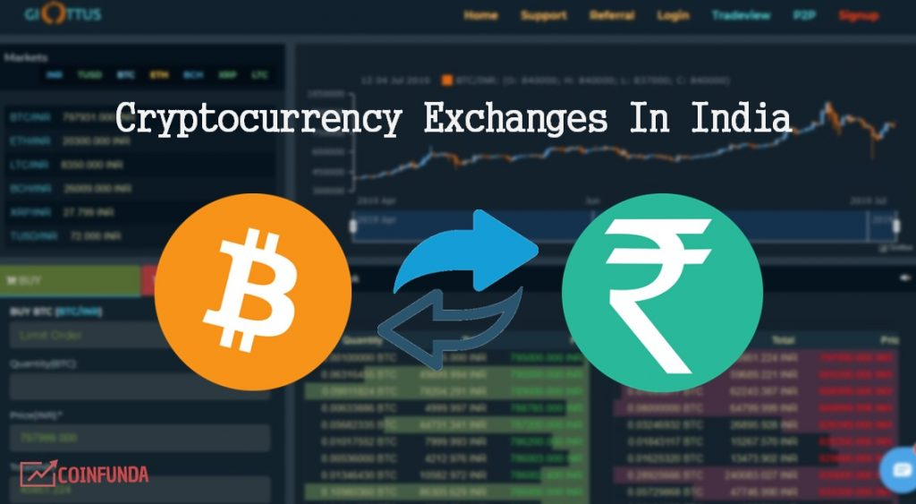 Best Cryptocurrency Exchange in India 2019 (Updated) - Buy bitcoin in india