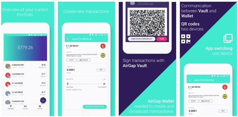 airgap wallet app