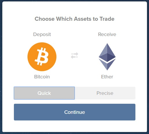 ShapeShift Review - Convert Coin Instantly