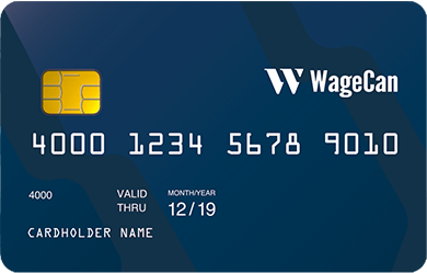 wagecan top bitcoin debit card