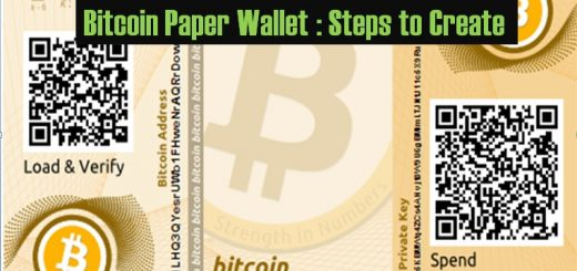 Bitcoin Paper Wallet Steps to Create