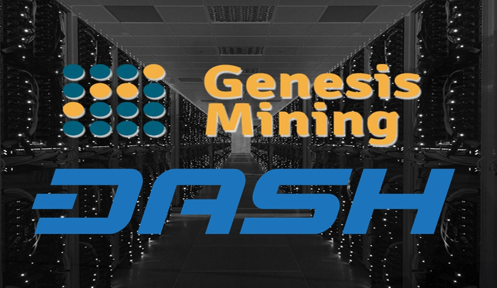 how to mine DASH with Genesis cloud mining