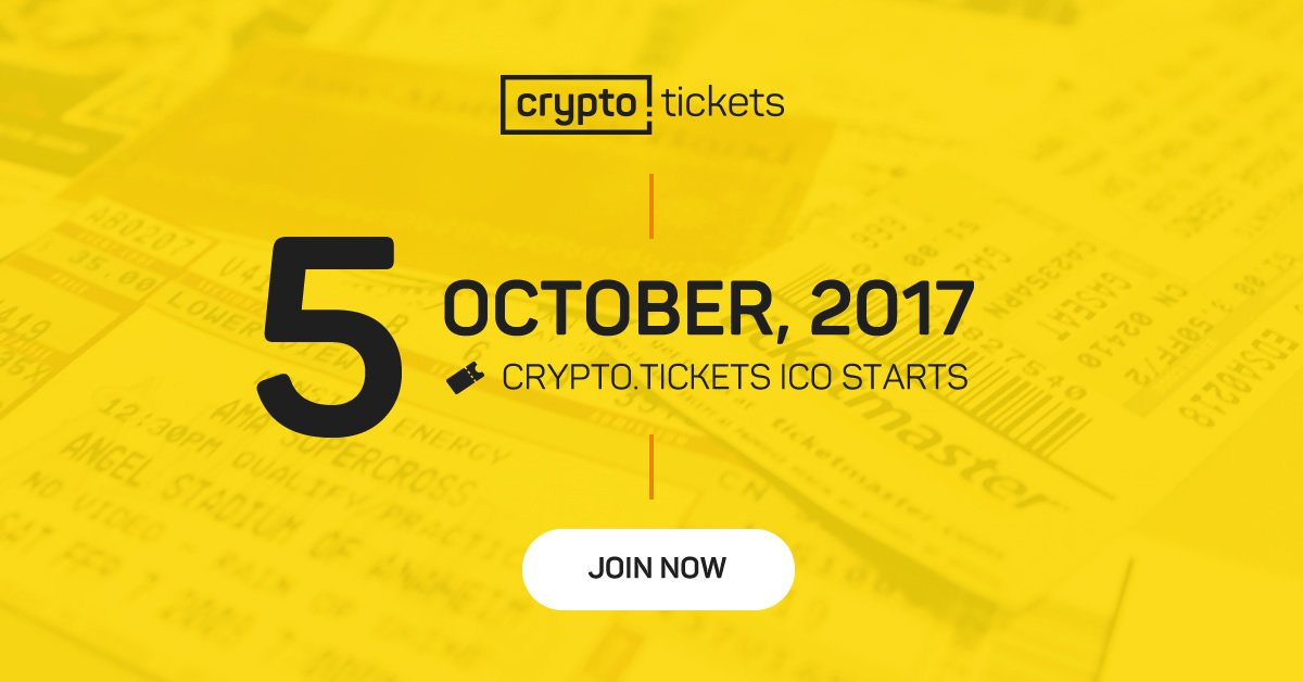 Crypto.Tickets ICO Review