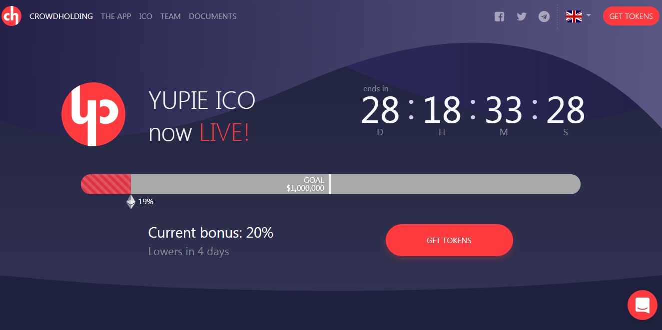 crowdholding ICO Review