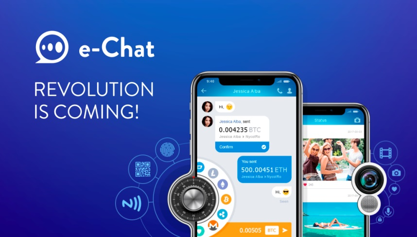 echat ICO E-chat review