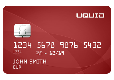 UQUID debit card