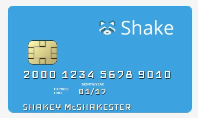 Ether debit card