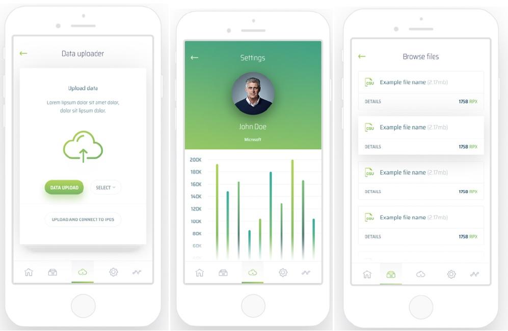 Rupex Mobile App (RPX token Buy)