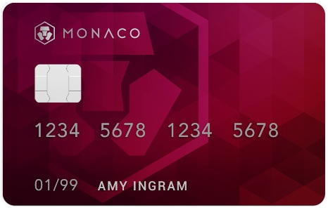 monaco debit card for Ether ETH