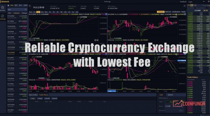 Best Trusted Cryptocurrency Exchange with Low Fee