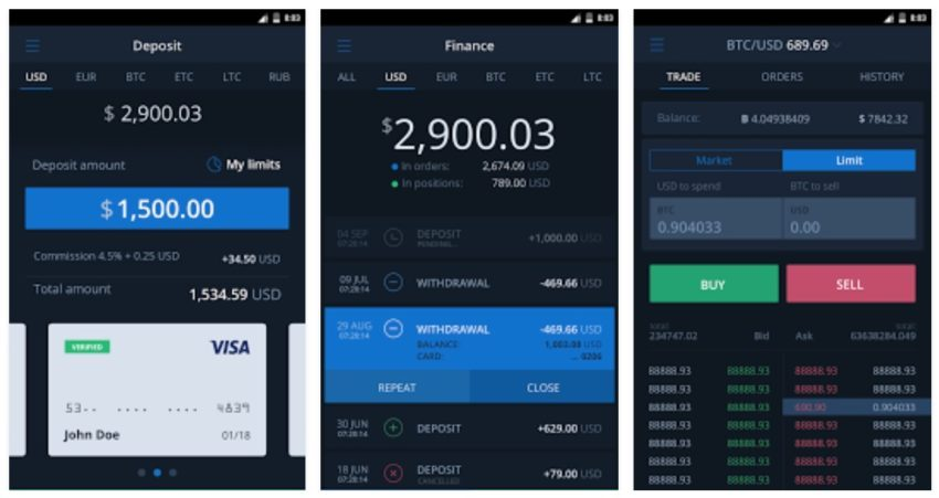 best mobile apps for cryptocurrency trading - android and ios
