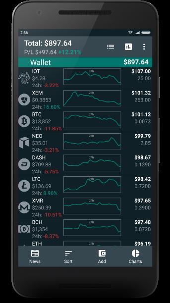 bitsnapp crypto portfolio