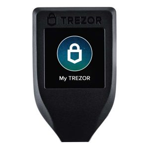 trezor model t - best tezos wallet