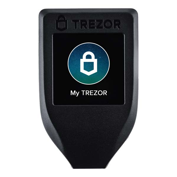 trezor model t - tezos wallet