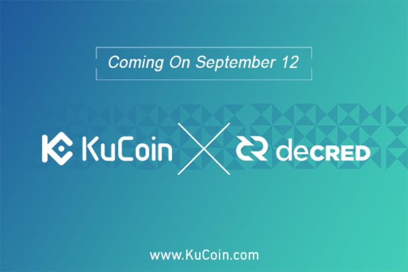 Decred DCR Kucoin