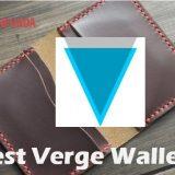best verge wallet 2019