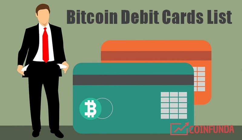best bitcoin debit card list 2019