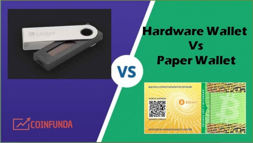 hardware wallet vs paper wallet