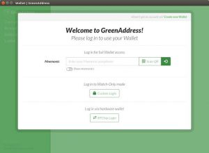greenaddress wallet