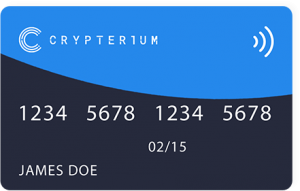 crypterium cryptocurrency debit card