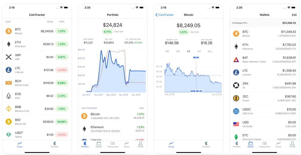 cryptocurrency portfolio manager