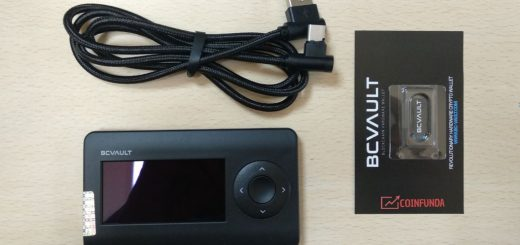 BC vault Hardware wallet review