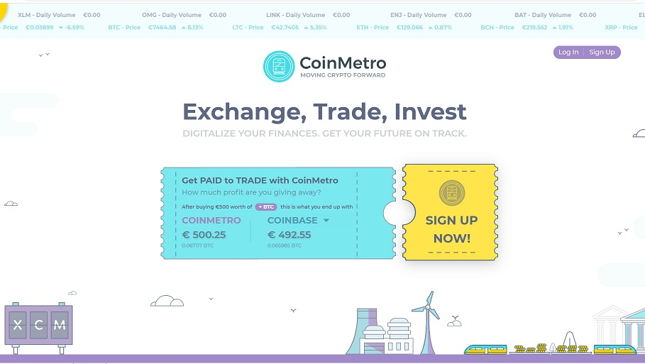 coinmetro review exchange review
