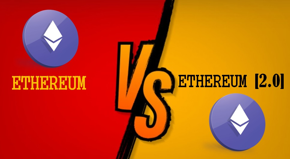 Ethereum vs Ethereum 2.0 pow vs pos ETH