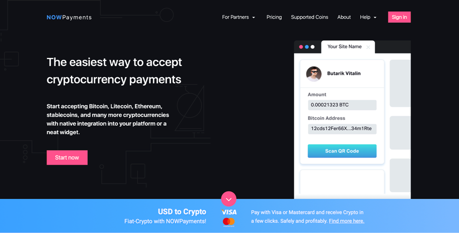 NowPayments Review - Crypto Payment Gateway