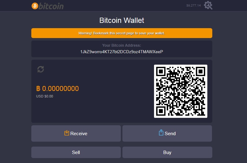 Wallet interface