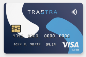 Trastra crypto debit card - bitcoin debit card