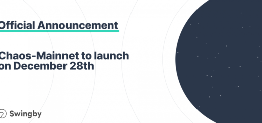 Ready for Chaos? Swingby's Chaos-Mainnet Launches on December 28th 3