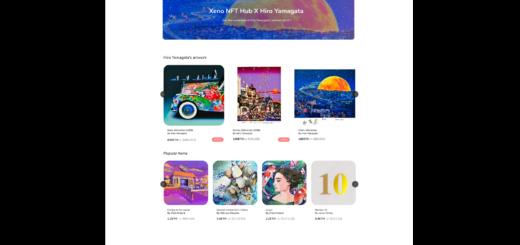 XENO starts VIP NFT trading service and collaborates with contemporary artist Hiro Yamagata 1