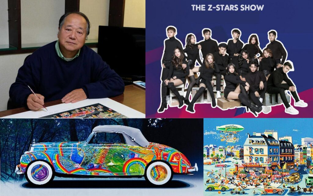 XENO NFT Hub VIP service, a big success featuring contemporary artist Hiro Yamagata and Z-POP Stars 1