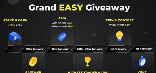 WazirX Launches Grand EasyFi (EASY) Giveaway