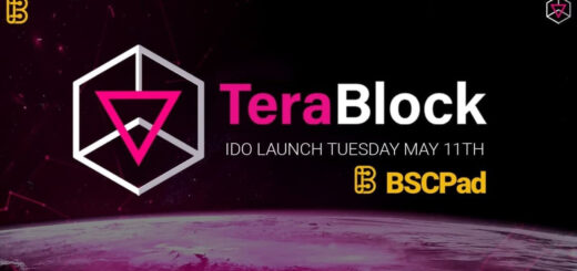 TeraBlock Will Launch Its Initial DEX Offering on BSCPad at May 11 2