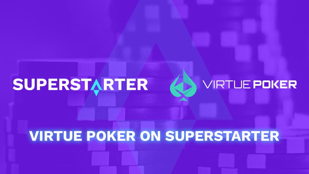 Virtue Poker IDO On SuperStarter Kicks Off On May 28 1