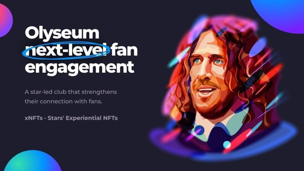 Olyseum launches the world's first experiential NFT platform to strengthen celebrity-fan engagement 1