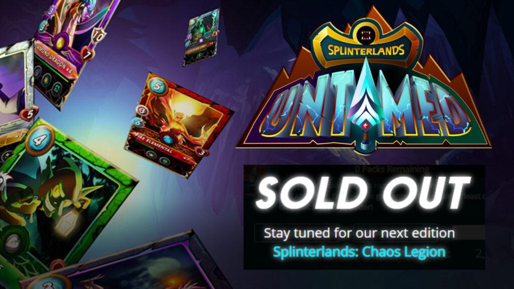 Splinterlands Sells Out of 1.5 Million NFT Card Booster Packs 1