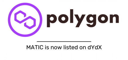 MATIC is now listed on dYdX, a Powerful and Decentralized Perpetual Trading Exchange 11