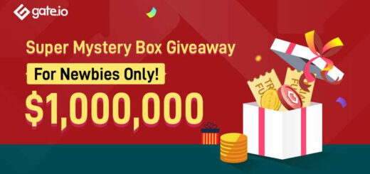 Gate.io Launches Mystery Box Giveaway For New Users With $1 Million In Prizes 11