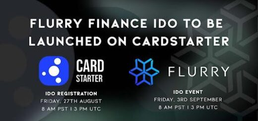 Flurry Finance IDO To Be Launched on CardStarter 9