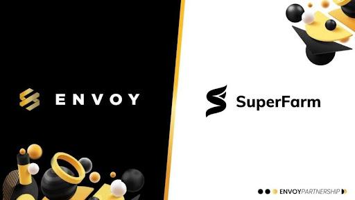 ENVOY Partners with SuperFarm to Expand Reach of Premium Mass Appeal NFTs 1