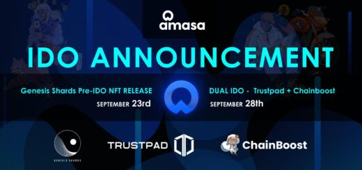 Amasa Announces Dual IDO on Trustpad and Chainboost on September 28 11