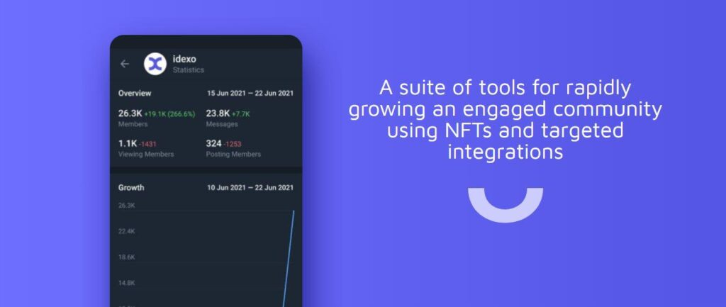 Idexo Launches its Community Development Kit to Help Brands Mint NFTs on Twitter and Telegram 1