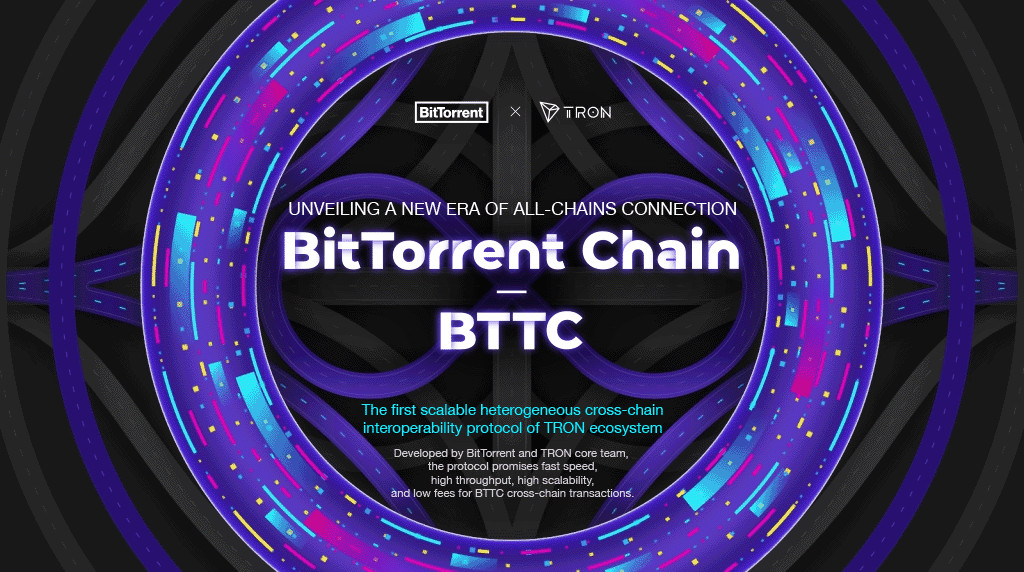 TRON And BitTorrent Launch BTTC 1