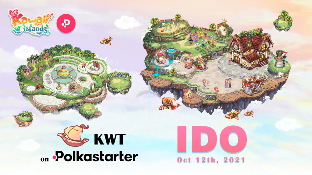 Kawaii Islands Taps Polkastarter For Its KWT IDO On October 12 1