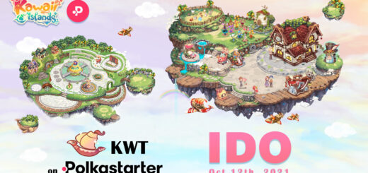 Kawaii Islands Taps Polkastarter For Its KWT IDO On October 12 2