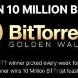 BitTorrent Announces Golden Wallet Sweepstakes 10 Million Btt Giveaway 16